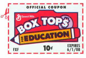 Kitchen Collection Printable Coupons box tops for education it s more then just a piece of