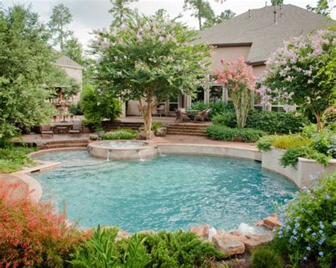 pool landscaping backyard pool landscaping ideas houzz