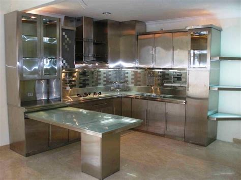 Stainless Steel Kitchen Cabinet Doors by Extraordinary Stainless Steel Kitchen Cabinet Doors 27