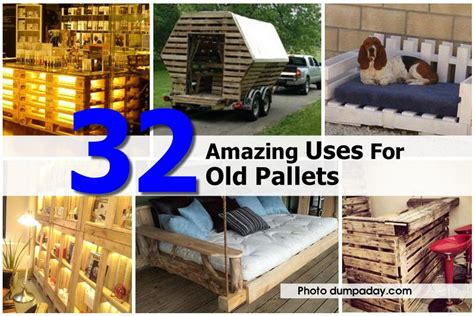 diy projects using pallets 32 amazing uses for pallets