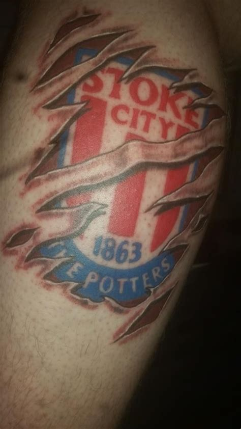 city tattoos designs stoke stoke city and