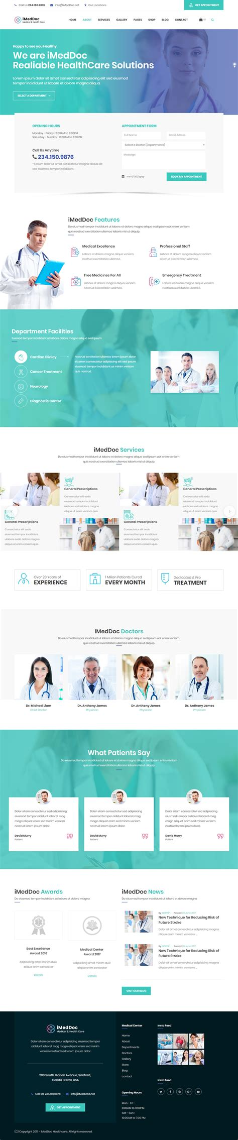responsive templates html5 10 best responsive html5 dentist templates in 2017