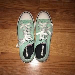 mint colored converse mint colored converse shoes on poshmark