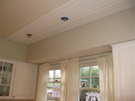 installing beadboard ceiling drywall where to own beadboard looking textured ceiling