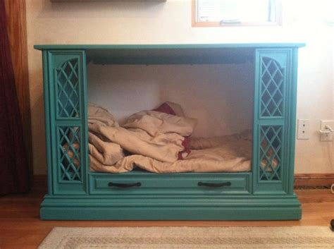 tv dog bed 17 best images about dog bed ideas tv console on pinterest console tv tv consoles