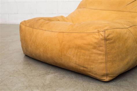 Leather Bean Bag Sofa De Sede Style Leather Bean Bag Chair At 1stdibs