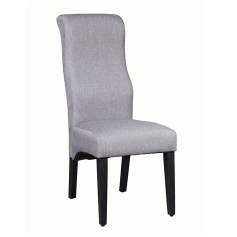 Grey Parsons Chair - augustin parsons side chair grey set of 2 by coaster