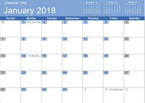The Best Free Microsoft Office Calendar Templates For The New Year Wikitimes Times Of New Microsoft Monthly Calendar Template