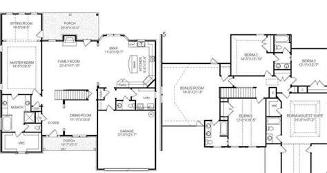 master bedroom on main floor two story house plans with master suite on main floor