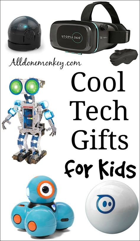 cool technology gifts cool tech gifts for kids all done monkey