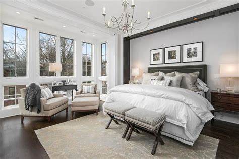 Black And Grey Bedroom Curtains Decorating 20 Master Bedroom Designs With Chandeliers Print Place Velvet Headboard And Grey Bed