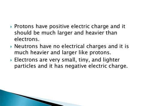Are Electrons Bigger Than Protons And Neutrons Structure And Properties Of The Atom