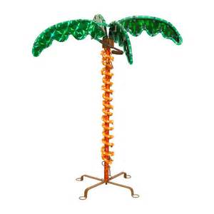 shop christmas central pre lit palm tree with constant