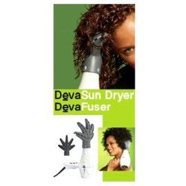 Devacurl Devafuser Hair Dryer Diffuser Green deva curl hair dryer deva curl deva sun dryer with