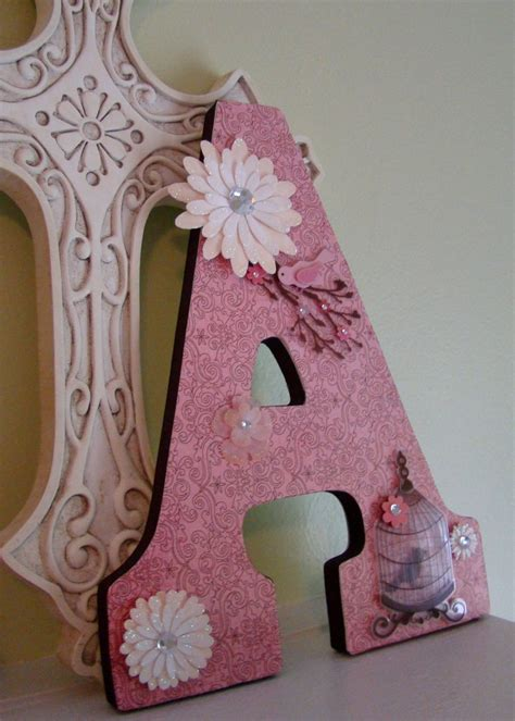 Letter A Decor by 238 Best Images About Wooden Letter Ideas On