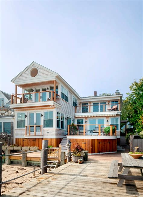 wooden beach house designs htons beach house interior design exterior beach style with victorian cottage cable railing