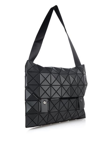 Bao Bao Bag lyst bao bao issey miyake prism messenger bag in black