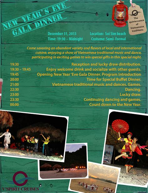 new year introduction new year gala dinner program 2013 v spirit cruises