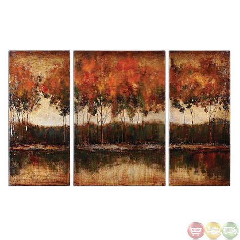 3 Painting Set by Trilakes Set Of 3 Stretched Canvas 34207
