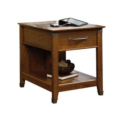cherry side tables for living room side table in washington cherry 413350