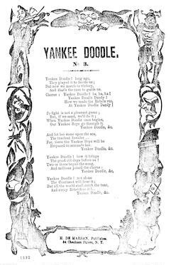yankee doodle in sign language search notated library of congress