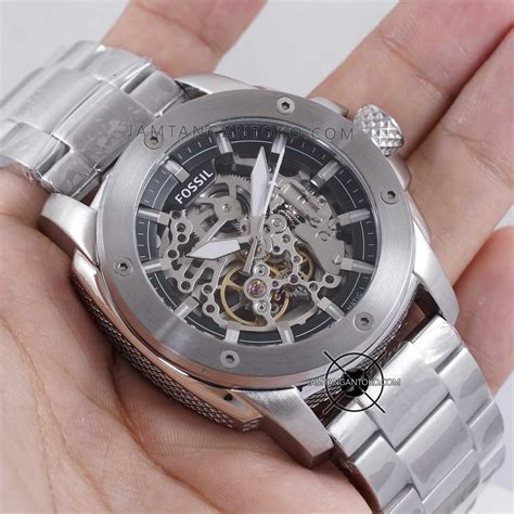 Jam Tangan Fossil 2 Rantai Silver harga sarap jam tangan fossil modern machine rantai me