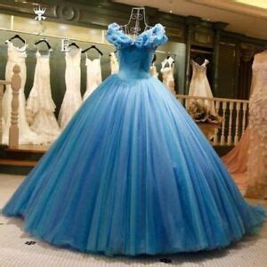 cinderella fancy quinceanera dresses evening prom wedding bridal gown ebay
