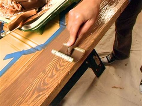 how to paint woodwork how to paint a faux wood grain how tos diy