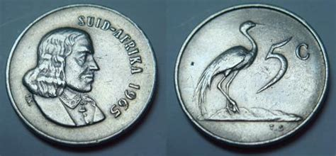 bid or bay other republic of south africa coins 1965 5c coin