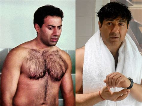 sunny deol hair famous chest hair of bollywood actors filmibeat