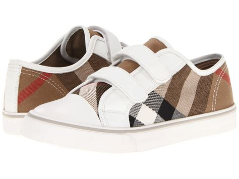 burberry kid shoes burberry canvas check trainers toddler kid
