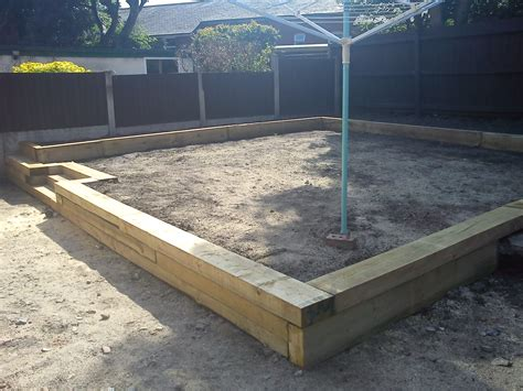Garden Sleeper by Railway Sleepers Pride Home Services