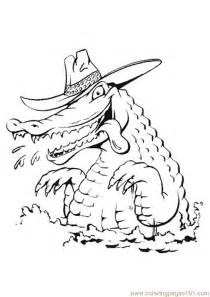 alligator coloring page pdf alligator romantic hungry stlye coloring page free