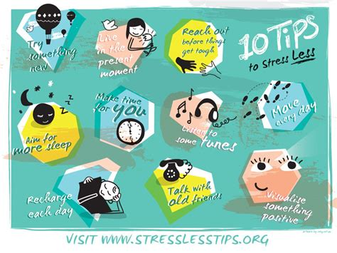 10 Tricks For Less by Stress Less Tips 2015 Mental Health Month