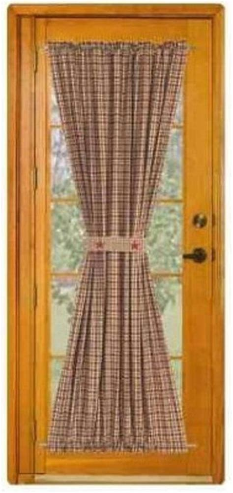 make country curtains 25 best ideas about door panel curtains on pinterest