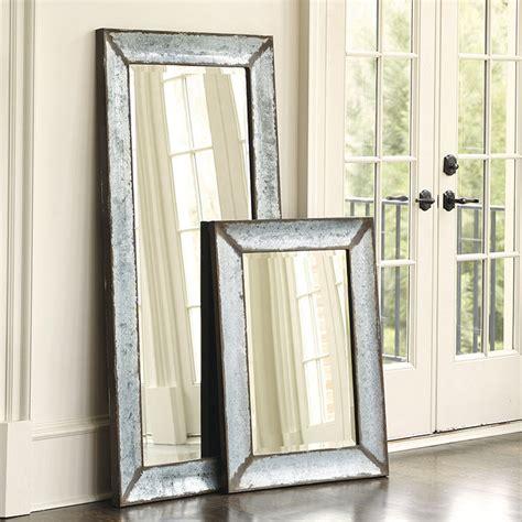 ballard design mirrors zinc framed mirror ballard designs