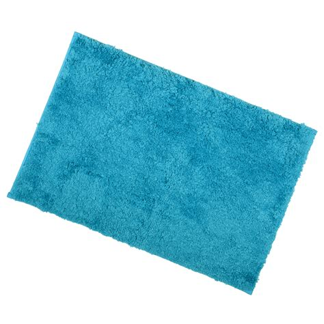 Teal Bath Rugs 40x60cm Teal Tufted Microfibre Shower Bath Mat Rug Non Slip Backing Bamboobliss