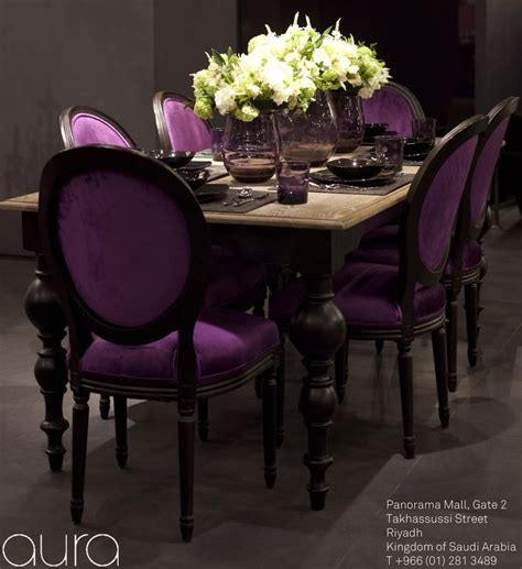 Purple Dining Room Set by 17 Best Images About Dining Room On Modern