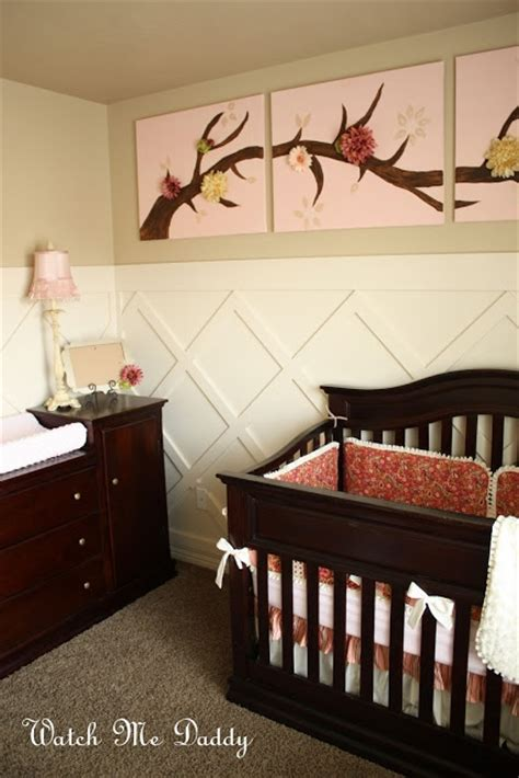 wainscoting baby room criss cross wainscoting for the home nursery wall baby rooms and i
