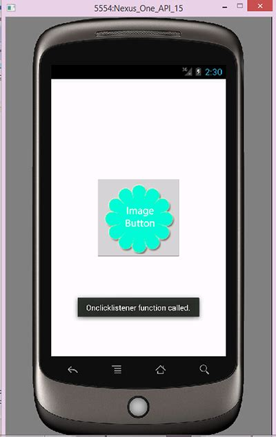 imagebutton android set onclicklistener on imagebutton in android programmatically exle android exles