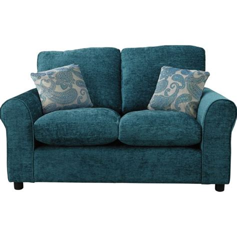 argos teal sofa buy home tabitha regular fabric sofa teal at argos co uk