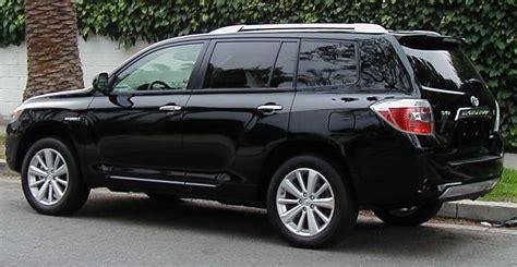 Toyota Kluger Fuel Efficiency Toyota Highlander Hybrid 2015 Image 13