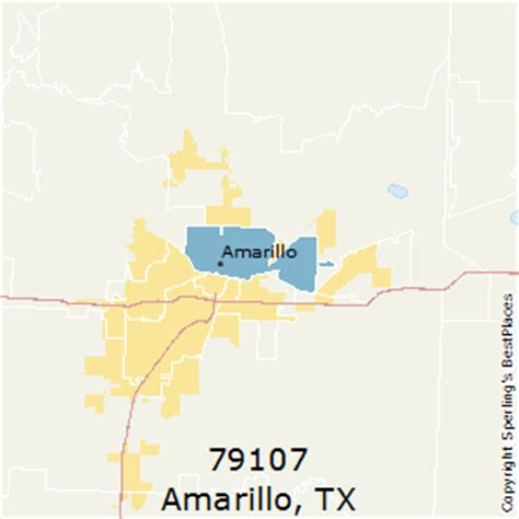 amarillo texas zip code map best places to live in amarillo zip 79107 texas