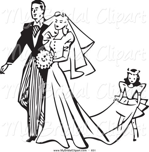 Wedding Images Black And White by And Groom Clipart Black And White Clipart Panda