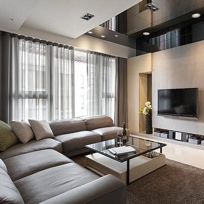 simple japan south korea style living room interior