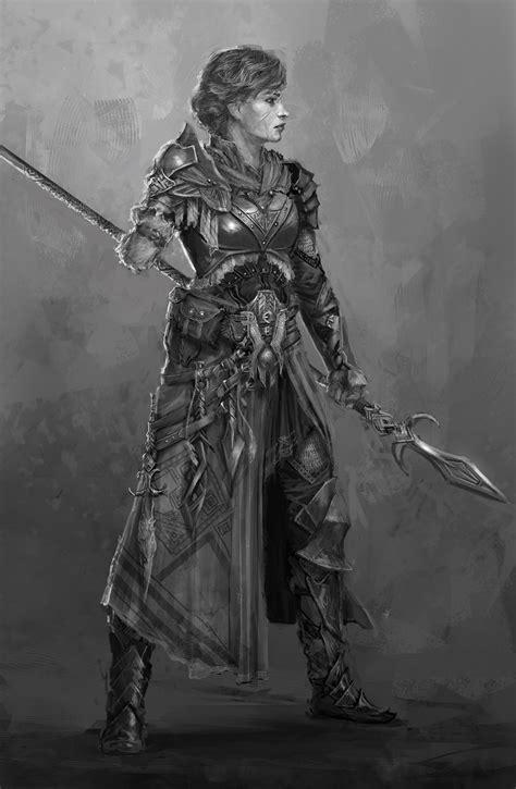 arm spear mistress   dunn  deviantart