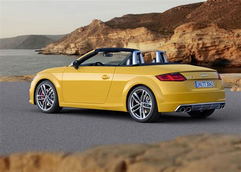 Audi Tt Roadster 2015 by 2015 Audi Tt Tt S Roadster Unveiled