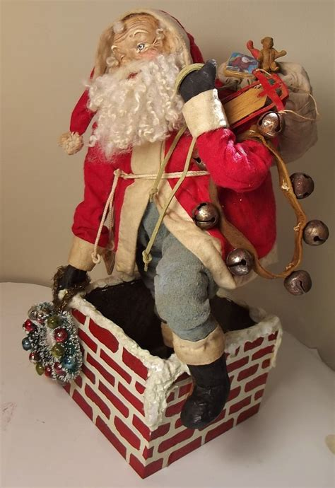 Handmade Santas - 10 images about s klaus on folk le