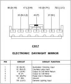 nissan rear view mirror wiring diagram nissan free engine image for user manual