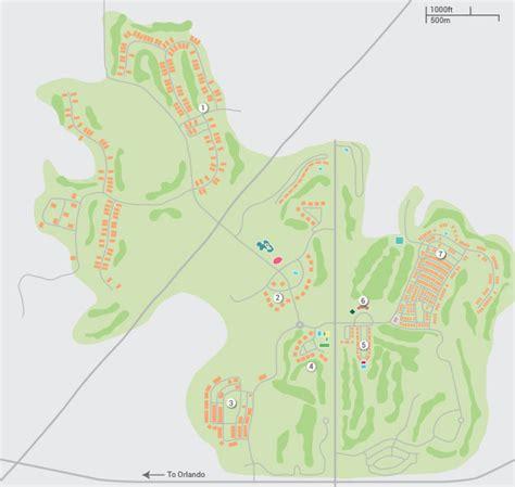 map of reunion florida reunion resort gt orlando florida resorts